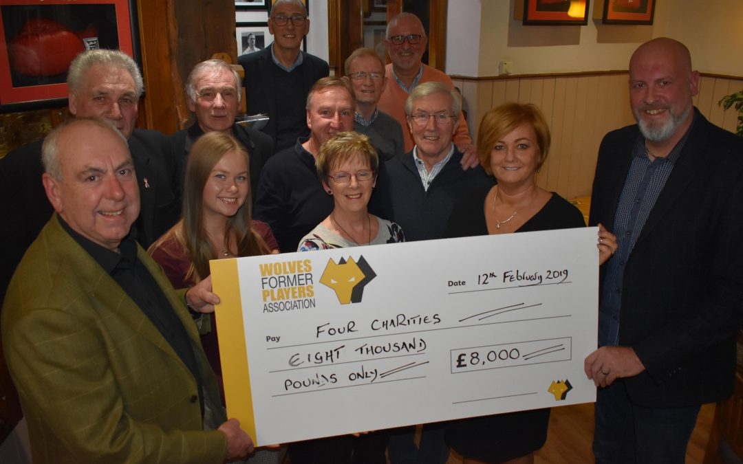 'Fore' Golf Day Donations Handed Over
